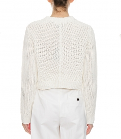 LS CROPPED PULLOVER