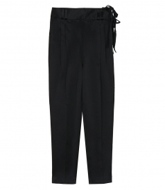 3.1 PHILLIP LIM - CREPE PANT WITH WAIST TIE