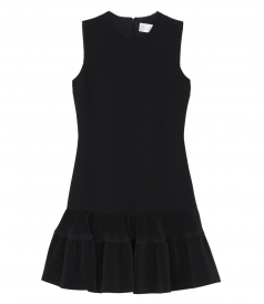 VICTORIA, VICTORIA BECKHAM - PLEAT HEM SHIFT
