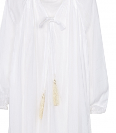 KAFTAN WITH TASSELS
