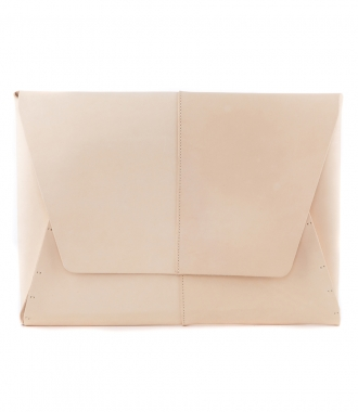 FORTE FORTE - BIG LEATHER CLUTCHBAG