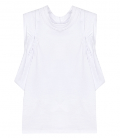 ALEXANDER WANG - DRAPED RACER BACK TANK
