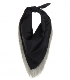 ALEXANDER WANG - SCARF WITH FRINGE