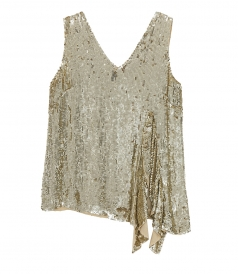 CLOTHES - SEQUIN BLOUSE