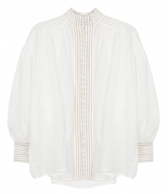 ZIMMERMANN - CORSAGE LINEAR BLOUSE