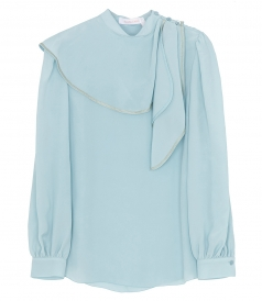 CLOTHES - DRAPED DETAIL BLOUSE