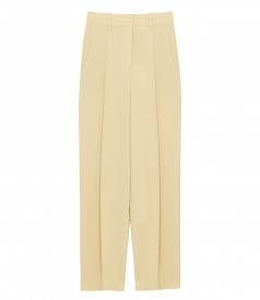 THEORY - WIDE LEG TROUSERS