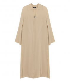 TUNICS & KAFTANS - LONG-SLEEVE FLARED DRESS