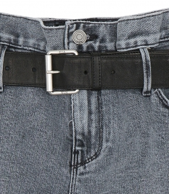 BAGGY SHORTS WITH BELT