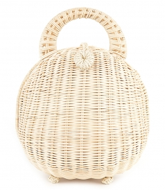 HANDLE - MILIE RATTAN BAG