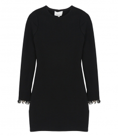 3.1 PHILLIP LIM - LS EMBELLISHED JSY  MINI DRESS