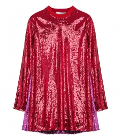 JUST IN - SEQUIN EMBELLISHED MINI DRESS