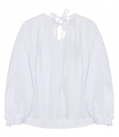 CLOTHES - LS POPLIN BLOUSE