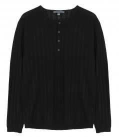 JUST IN - LS RIB HENLEY