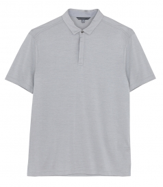 JOHN VARVATOS - SS NEW HAMPTON POLO