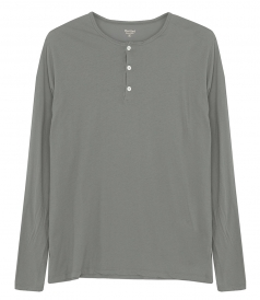 CLOTHES - LIGHT HENLEY LS