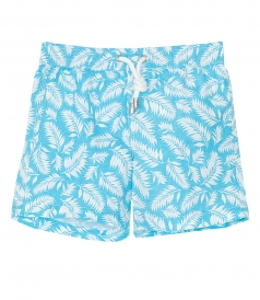JUST IN - ACHILLE WHITE LEAVES PRINT