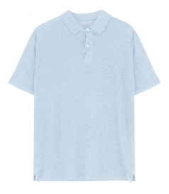 CLOTHES - LINEN POLO SS