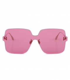 ACCESSORIES - DIORCOLORQUAKE1  PINK SQUARE SUNGLASSES 62