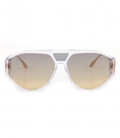 DIOR SUNGLASSES - DIORCLAN1 AVIATOR ACETATE SUNGLASSES
