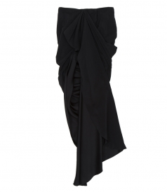 SALES - SILK LONG SKIRT