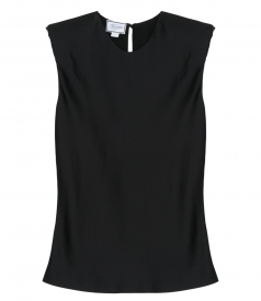 SALES - BLACK SILK TOP