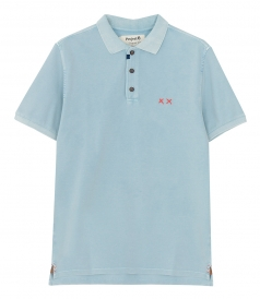 POLOS - PREPSTER HEAVY MENDING POLO REG FIT