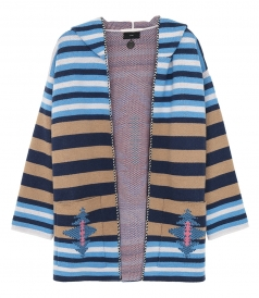 SALES - NAVAJO STIRPES HOODED