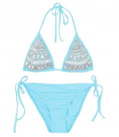 CLOTHES - Aquamarine Bikini
