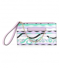 EMILIO PUCCI - LA VILLA PRINT MEDIUM ENVELOPE CLUTCH
