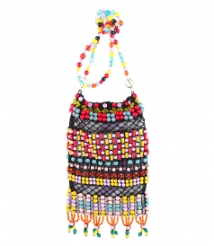 SALES - BEAD-EMBROIDERED PEPITA CROSSBODY