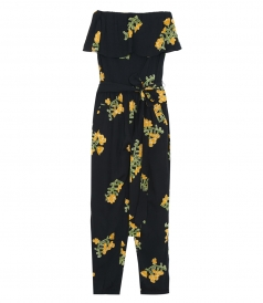 JUMPSUITS - FLOWER MADI JUMPSUIT