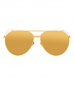 SUNGLASSES - LFL425C1SUN YELLOW GOLD