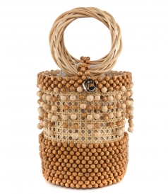 HANDLE - CORA BAG WITH BEADS