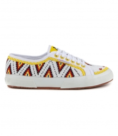 SHOES - LOW TOP BEADED MULTI