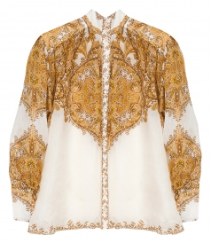 ZIMMERMANN - ZIPPY BILLOW BLOUSE