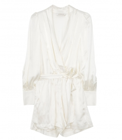 ZIMMERMANN - WRAP RUFFLE PLAYSUIT
