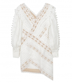 ZIMMERMANN - MONCUR STUDDED MINI DRESS