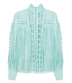 ZIMMERMANN - MONCUR STUDDED BLOUSE