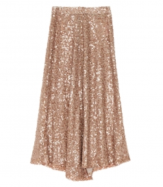 CLOTHES - LONG SEQUINS SKIRT