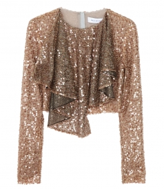 CLOTHES - SEQUINS TOP
