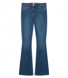JEANS - BELL HIGH RISE FLARE PANTS