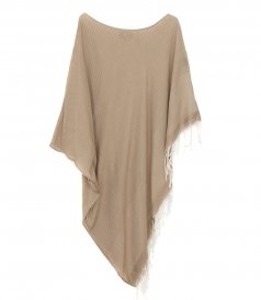 CLOTHES - BOAT NECK PONCHO