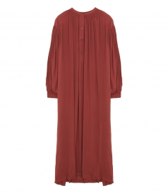 SALES - WIDE DRESS WITH PUFF SLEEVES