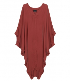 SALES - BATWING SEEVES DEEP V NECK KAFTAN