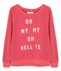 CLOTHES - HELL YES PULLOVER