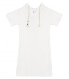 SOL ANGELES - LOOP TERRY HOODED DRESS (KIDS)