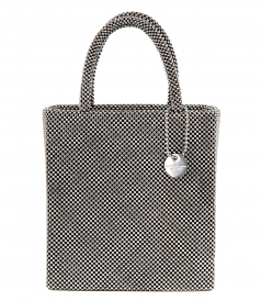 ALEXANDER WANG - MINI TOTE SILVER BALL CHAIN