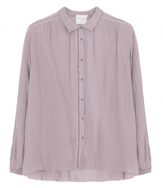 SHIRTS - COTTON GAUZE SHIRT