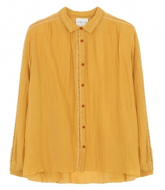 JUST IN - COTTON GAUZE SHIRT